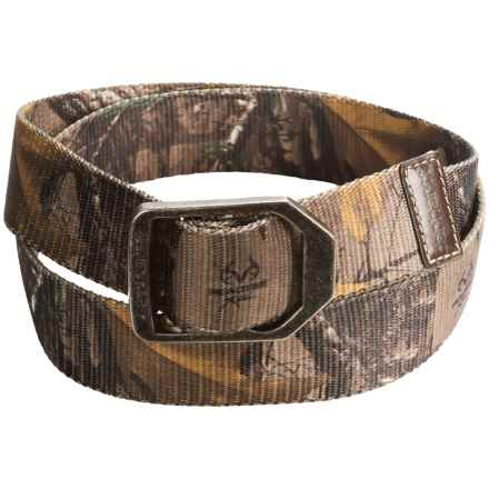 Carhartt Outdoorsman Belt in Realtree Camo - Closeouts