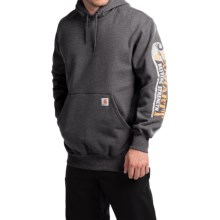 Carhartt Paxton Heavyweight Graphic Hoodie (For Men) in Carbon Heather - 2nds