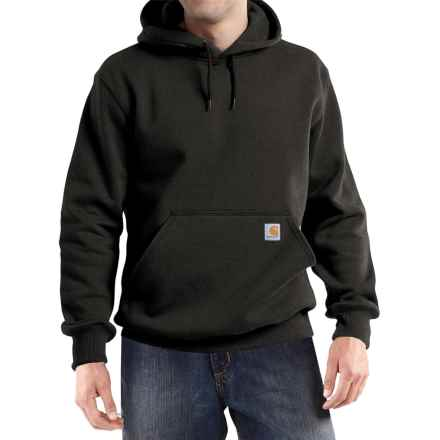 Carhartt Paxton Hooded Sweatshirt - Heavyweight, Factory Seconds (For Big and Tall Men) in 001 Black - 2nds
