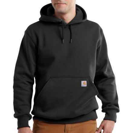 Carhartt Paxton Hooded Sweatshirt - Heavyweight, Factory Seconds (For Men) in Black - 2nds