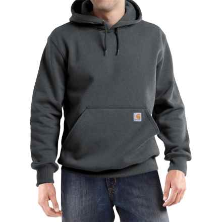Carhartt Paxton Hooded Sweatshirt - Heavyweight (For Men) in Carbon Heather - 2nds
