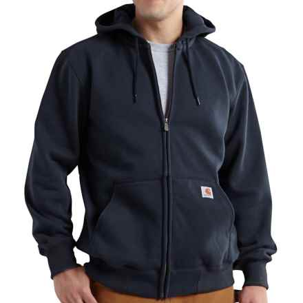 Carhartt Paxton Zip Hoodie - Heavyweight, Factory Seconds (For Big and Tall Men) in New Navy - 2nds