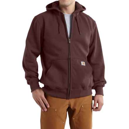 Carhartt Paxton Zip Hoodie - Heavyweight (For Men) in Dark Cedar - 2nds