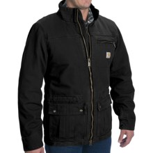 Carhartt Pike Jacket (For Men) in Black - 2nds