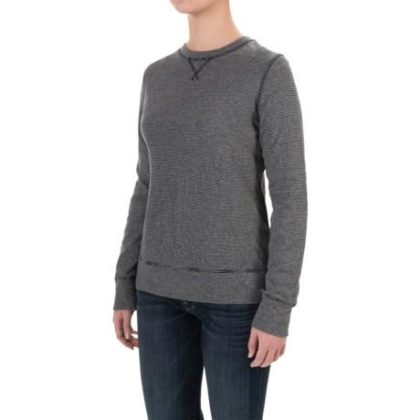 Carhartt Pondera Reversible Shirt - Long Sleeve, Factory Seconds (For Women) in Black Heather