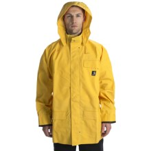 Carhartt PVC Rain Coat - Waterproof (For Tall Men) in Yellow - 2nds