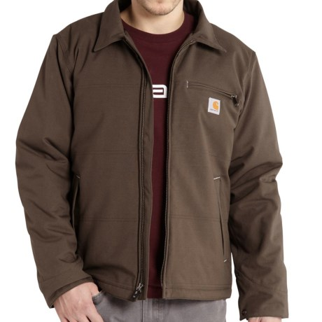 Carhartt Quick Duck Livingston Hooded Jacket Fleece Lining, Insulated (For Men)