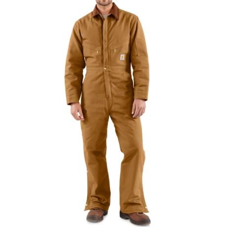 Carhartt Quilt Lined Duck Coveralls (For Men)