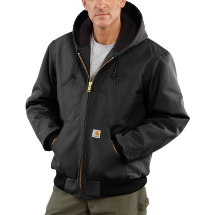 00dca10c0f29e Carhartt Quilted Flannel-Lined Duck Active Jacket - Factory Seconds (For Men)  in