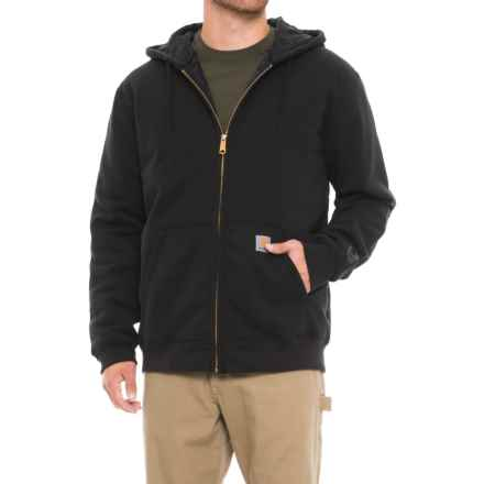 Carhartt Rain Defender® Avondale 3-Season Sweatshirt - Zip Front, Factory Seconds (For Men) in Black - 2nds