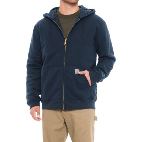 Carhartt Rain Defender® Avondale 3-Season Sweatshirt - Zip Front, Factory Seconds (For Men) in New Navy