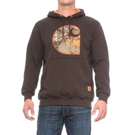 Carhartt Rain Defender® Avondale Hoodie (For Men) in Dark Brown - Closeouts