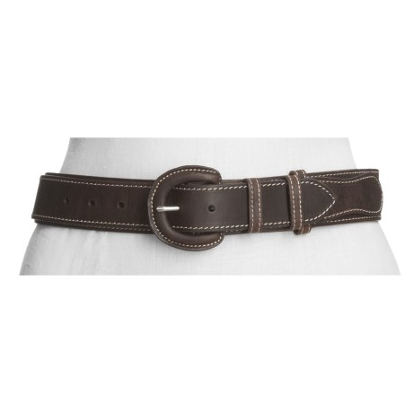 Carhartt Ranger Belt - Leather (For Women) in Brown