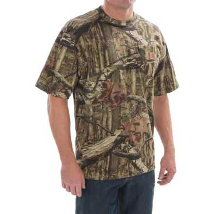 Carhartt Realtree® Xtra Camo T-Shirt - Short Sleeve (For Men) in Mossy Oak Break-Up Infinity - 2nds