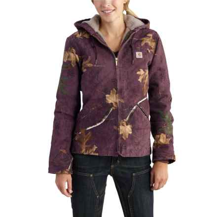 Carhartt Realtree Xtra® Sierra Jacket - Insulated, Factory Seconds (For Women) in Dusty Plum Realtree Xtra - 2nds