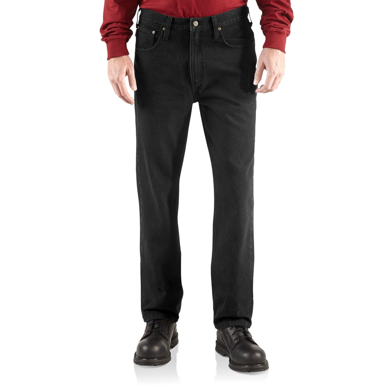 carhartt relaxed fit denim jeans for men