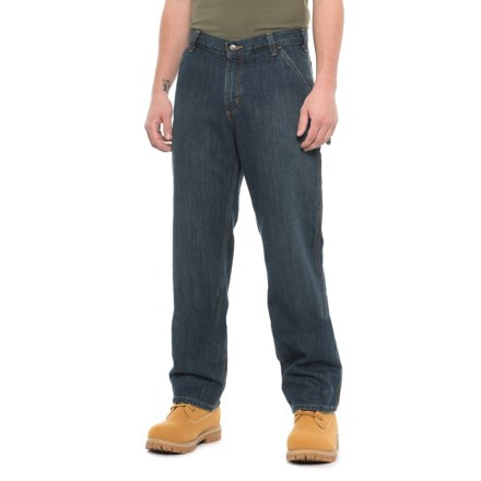 9a1ecd54fc Carhartt Relaxed Fit Holter Dungaree Jeans - Factory Seconds (For Men) in  Blue Ridge
