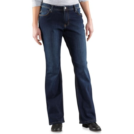 Carhartt Relaxed-Fit Jasper Jeans (For Women) in True Blue Indigo