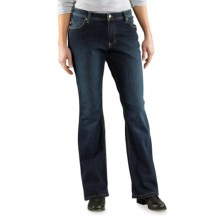 Carhartt Relaxed Fit Jasper Jeans - Mid-Rise, Bootcut (For Women) in True Indigo - 2nds