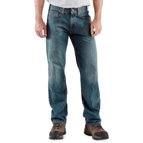 Carhartt Relaxed Fit Jeans - Straight Leg, Factory Seconds (For Men) in Weathered Blue