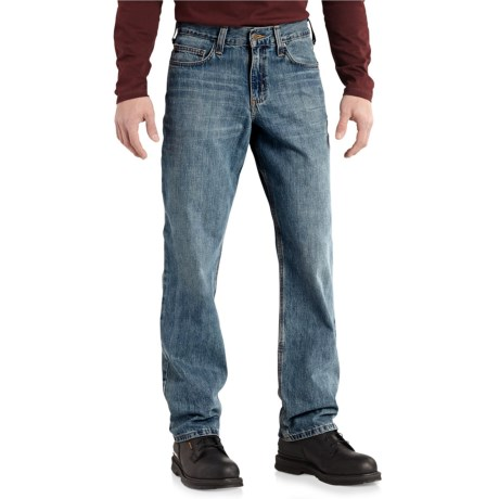 Carhartt Relaxed Fit Jeans - Straight Leg (For Men) in Pioneer Blue