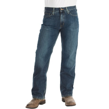 Carhartt Relaxed Fit Jeans - Straight Leg (For Men) in Weathered Blue