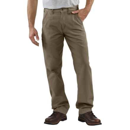 Carhartt Relaxed Fit Khaki Pants - Canvas (For Men) in Mushroom - 2nds
