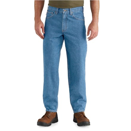 Carhartt Relaxed Fit Tapered Leg Jeans - Factory Seconds (For Big and Tall  Men) e772ba7db56