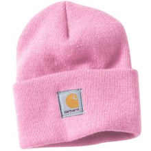 Carhartt Rib-Knit Beanie Hat (For Women) in Rose - 2nds