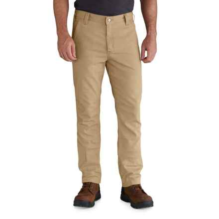 Carhartt Rigby Rugged Flex® Straight Fit Pants - Factory Seconds (For Men) in Dark Khaki - 2nds