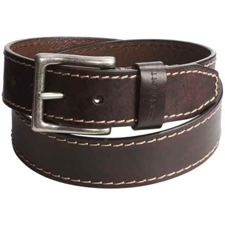 Carhartt Rigger Belt - Leather (For Men) in Brown - Closeouts