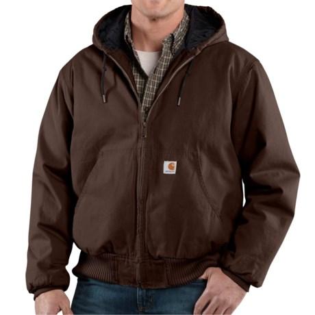 Carhartt Ripstop Active Jacket (For Men) in Dark Brown