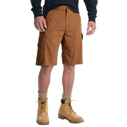 Carhartt Ripstop Cargo Work Shorts - Factory Seconds (For Men) in Carhartt Brown - 2nds