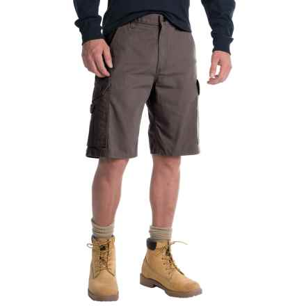 Carhartt Ripstop Cargo Work Shorts - Factory Seconds (For Men) in Gravel - 2nds