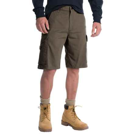 Carhartt Ripstop Cargo Work Shorts - Factory Seconds (For Men) in Moss - 2nds