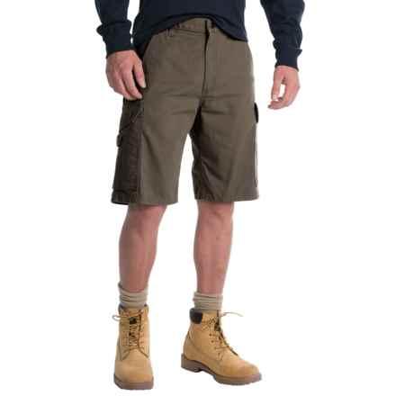 Carhartt Ripstop Cargo Work Shorts - Factory Seconds (For Men) in Moss - 2nds
