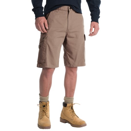 Carhartt Ripstop Cargo Work Shorts (For Men) in Moss