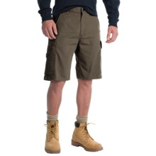 Carhartt Ripstop Cargo Work Shorts (For Men) in Moss - 2nds