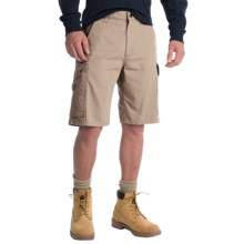 Carhartt Ripstop Cargo Work Shorts (For Men) in Stone - 2nds