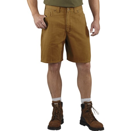 Carhartt Ripstop Cell Phone Shorts (For Men) in Carhartt Brown