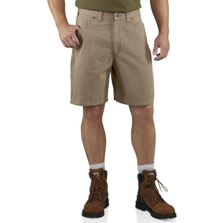 Carhartt Ripstop Cell Phone Shorts (For Men) in Desert
