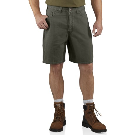 Carhartt Ripstop Cell Phone Shorts (For Men) in Moss