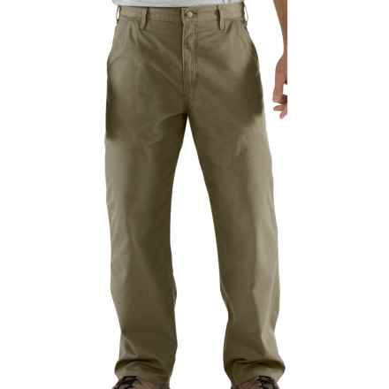 Carhartt Ripstop Work Pants (For Men) in Driftwood - 2nds