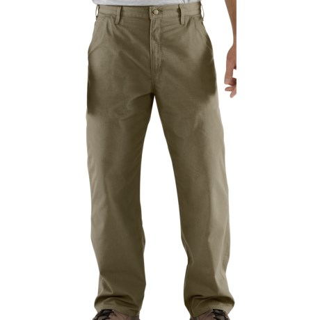 Carhartt Ripstop Work Pants (For Men) in Driftwood