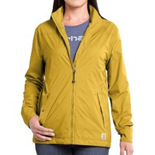 Carhartt Rockford Mock Neck Jacket (For Women) in Green Sulphur - 2nds