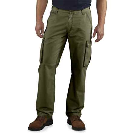 Carhartt Rugged Cargo Pants - Relaxed Fit, Factory Seconds  (For Men) in Army Green - 2nds
