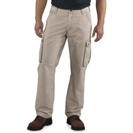 Carhartt Rugged Cargo Pants - Relaxed Fit, Factory Seconds  (For Men) in Tan - 2nds