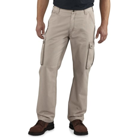 Carhartt Rugged Cargo Pants - Relaxed Fit, Factory Seconds  (For Men) in Tan