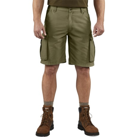 Carhartt Rugged Cargo Shorts - Factory Seconds (For Men) in Army Green