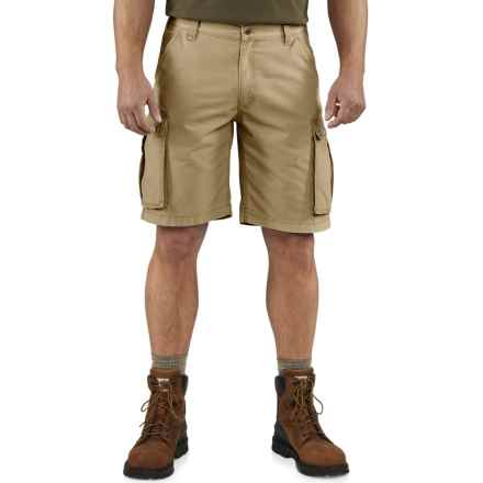 Carhartt Rugged Cargo Shorts - Factory Seconds (For Men) in Dark Khaki - 2nds